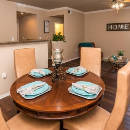Dining room | Madison at Walnut Creek apartments | Metric Blvd Austin