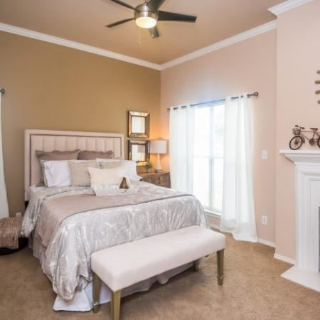 Master bedroom | 1 bedroom apartment | River Stone Ranch