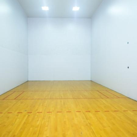 Racquetball court at River Stone Ranch apartments