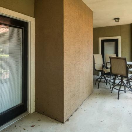 Private balcony | Austin apartments | Madison at Scofield Farms