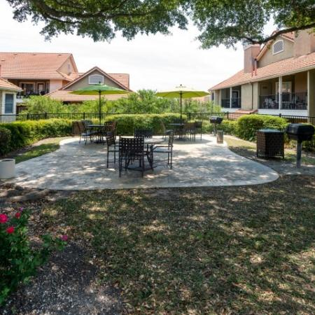 Outdoor grill   Picnic Area   Madison at Scofield Farms Austin apartments