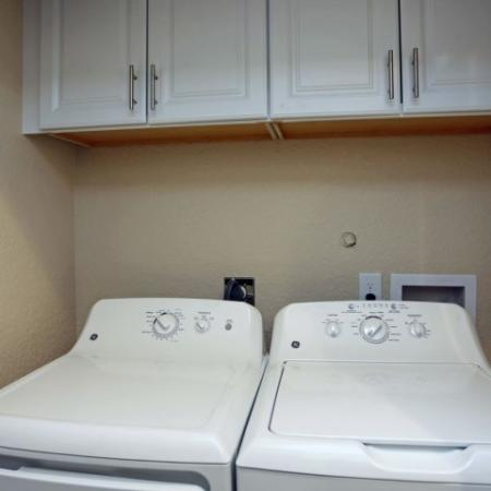 Washer and dryer in Jupiter Isle apartment
