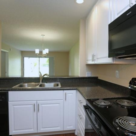 2 bedroom apartment kitchen | Jupiter Isle