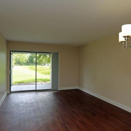 Jupiter Isle apartment with hardwood flooring