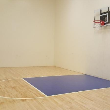 Indoor basketball | apartment gym | Promontory