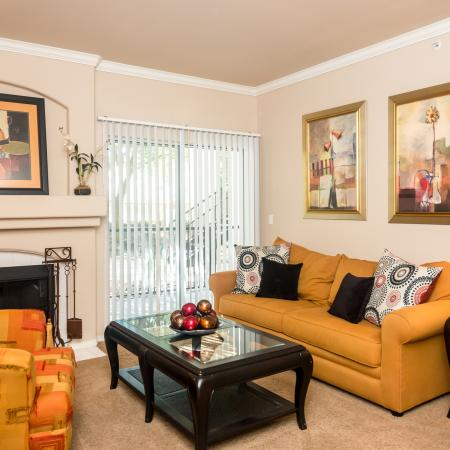 Living room | Madison at Wells Branch
