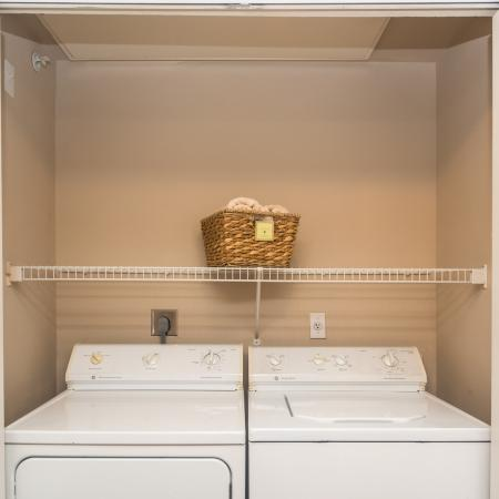 In-home washer and dryer | Austin TX apartments