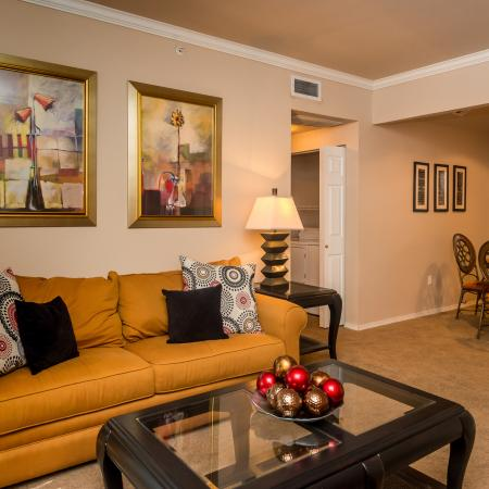 Living room | Madison at Wells Branch | Century Park Blvd