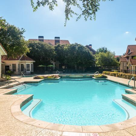 Apartment community pool | Madison at Wells Branch