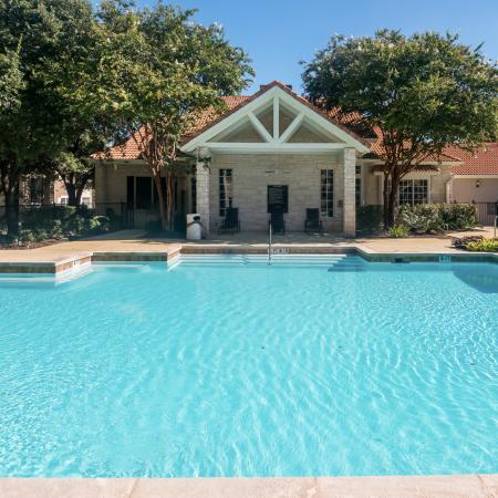 Apartment complex pool | Madison at Wells Branch