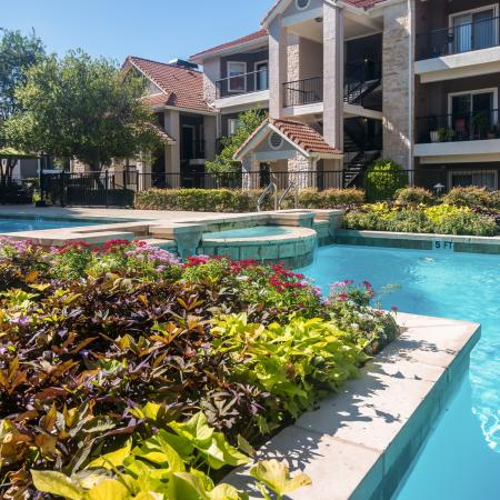 Apartments with pool views | Madison at Wells Branch
