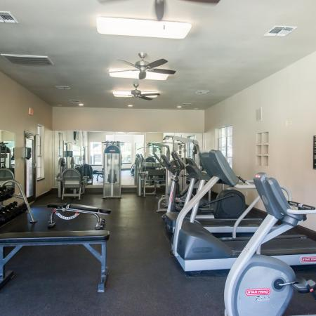 Apartment fitness center | Madison at Wells Branch