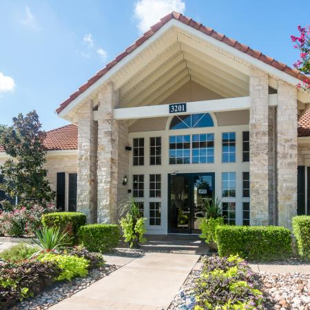 Madison at Wells Branch clubhouse | Austin TX apartments