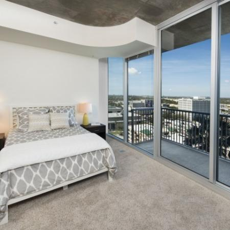 Tampa apartments with floor to ceiling windows | Element