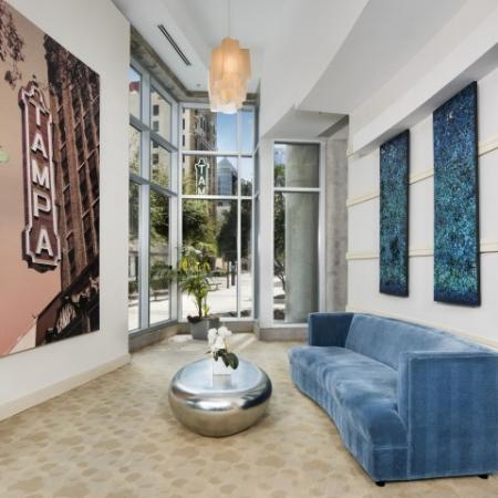 Studio apartments in downtown Tampa