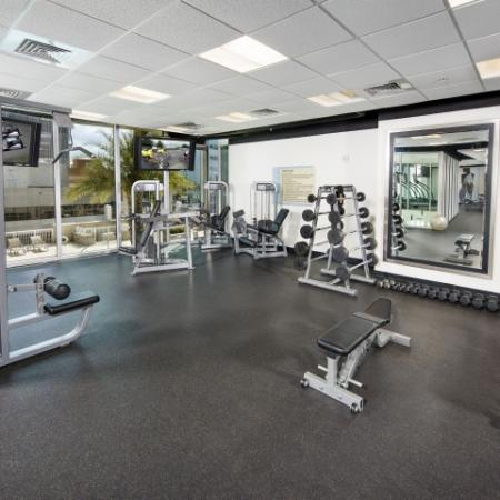 Luxury Tampa apartments with gym