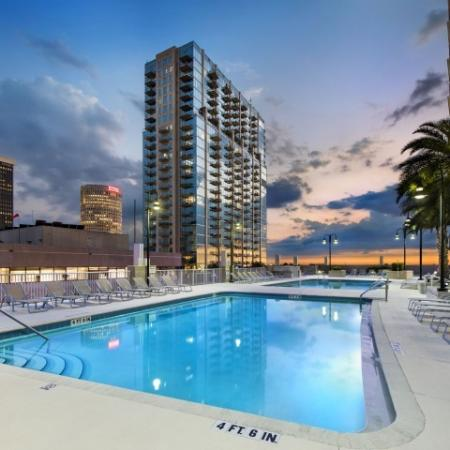 Element apartments with pool