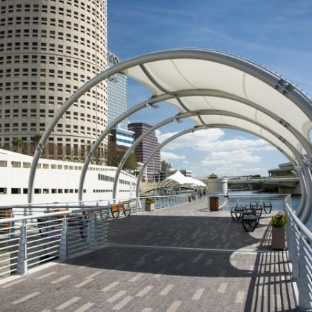 Downtown Tampa apartments with parking