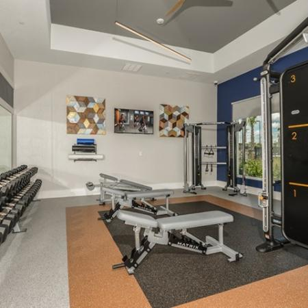 Echo Lake apartment gym