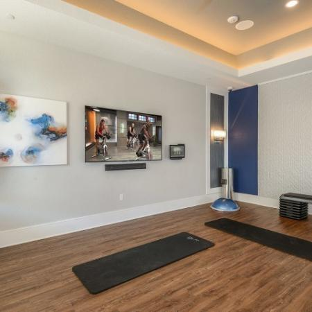 Luxury apartment gym in Lakewood Ranch