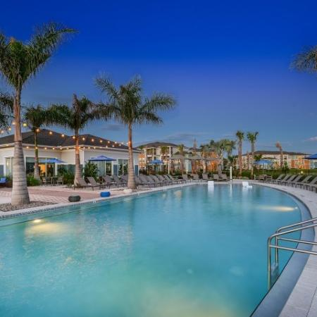 Echo Lake | Luxury pool at Lakewood Ranch apartments
