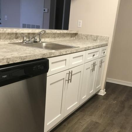 Renovated kitchen | Plantation club at Suntree apartments