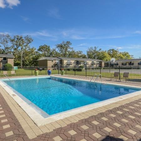 Community pool | Mission Grove apartments