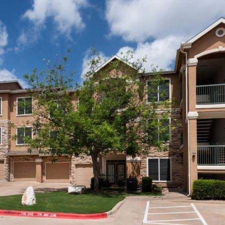 Garage parking and parking lot | The Park at Monterey Oaks