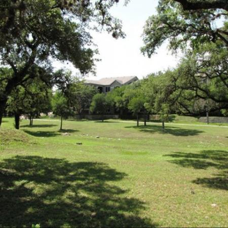 Green space | The Park at Monterey Oaks apartment community