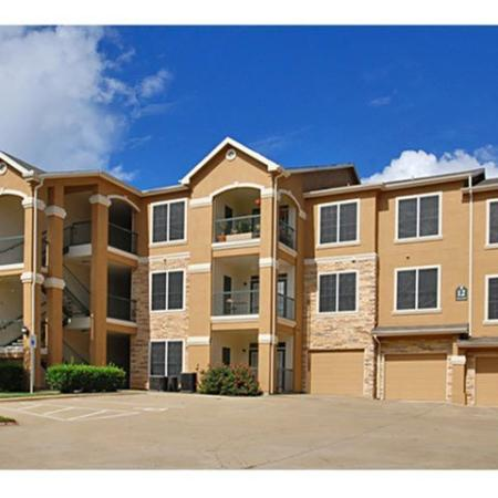 Garage parking | The Park at Monterey Oaks | South Austin apartments