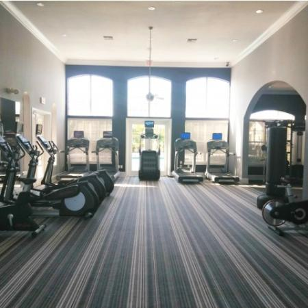 Royal St George fitness center cardio equipment | West Palm Beach apartments
