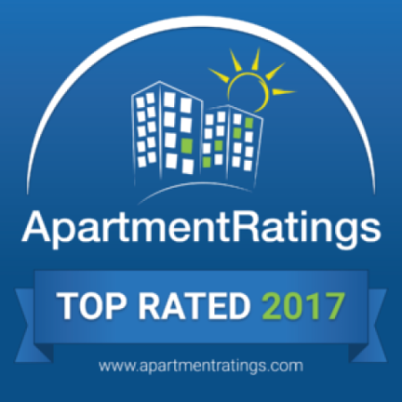 2017 ApartmentRatings Top Rated Award