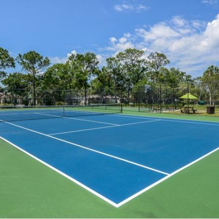 Tennis court at Lakeside at Greenboro