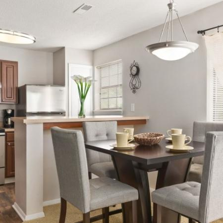 Dining room | 1 bedroom apartment in Windemere | Raleigh rentals