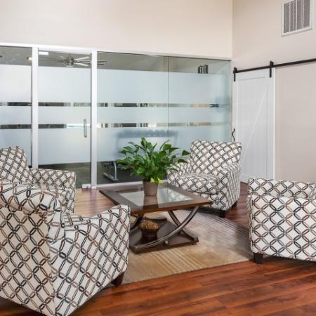 Clubhouse sitting area | resident services at Windemere