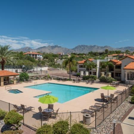 Apartment amenities Tucson AZ