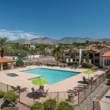 Apartment amenities Tucson AZ