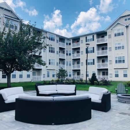 Outdoor Patio furniture | Highland at Faxon Woods apartments