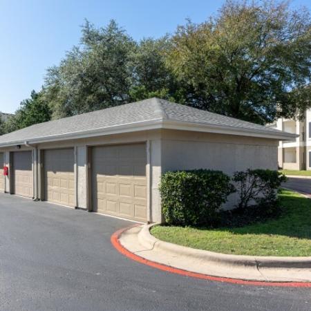 Garage parking | Northland at the Arboretum | Austin TX