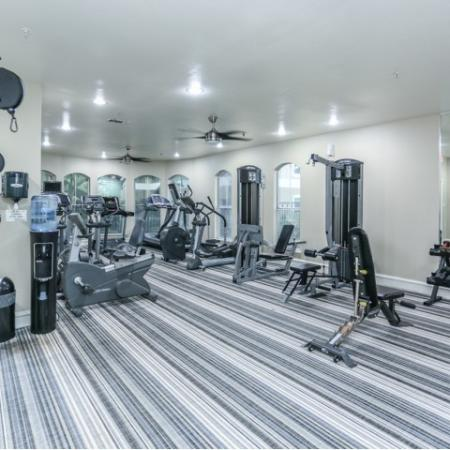Fitness center at Northland at the Arboretum | Austin apartment complex