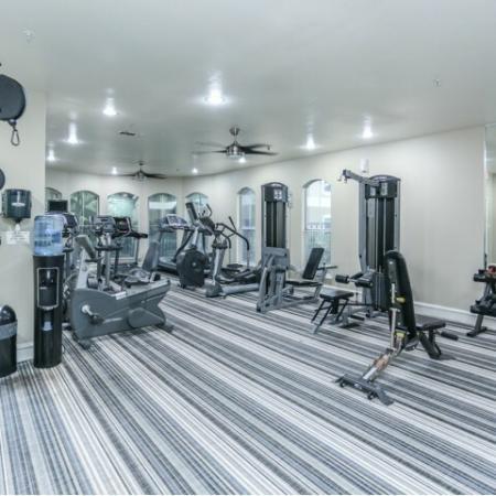 Fitness center at Northland at the Arboretum | Austin apartment complex