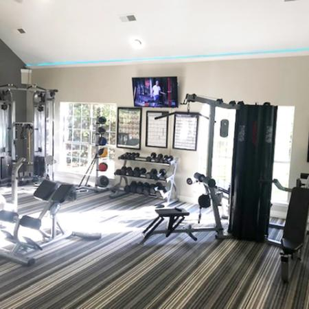 24 hour apartment gym | Madison at the Arboretum