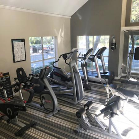 Cardio equipment | Weight equipment | Apartment gym in Austin TX