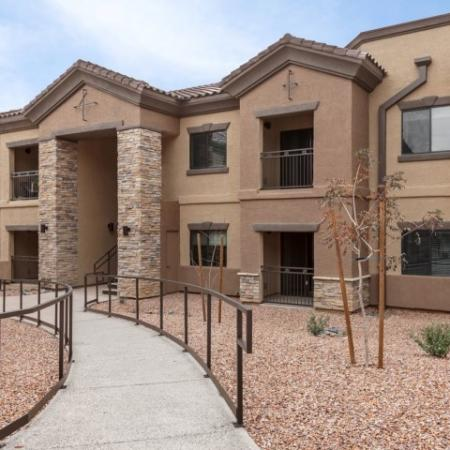 Exterior of apartment buildings | Canyons at Linda Vista trail apartment complex outside of Tucson AZ