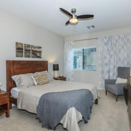 Bedroom of Oro Valley apartments