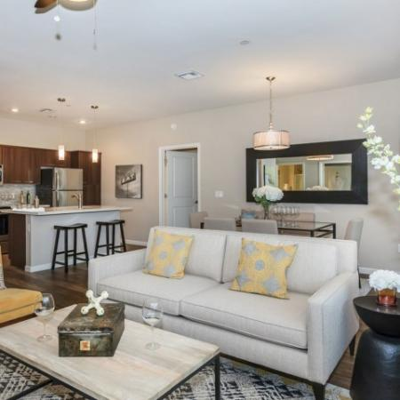Open floorplan of 2 bedroom apartment | Oro Valley AZ apartments