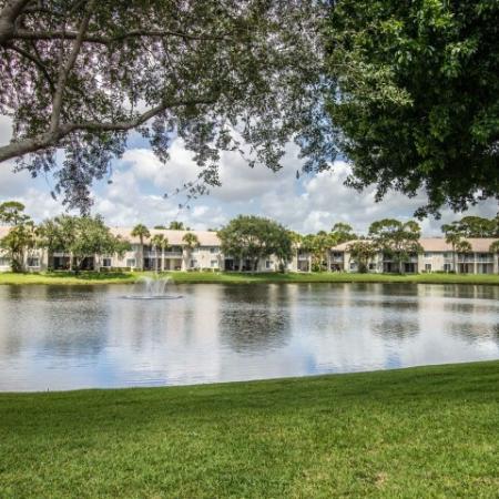 Lake at Gateway Club apartment complex