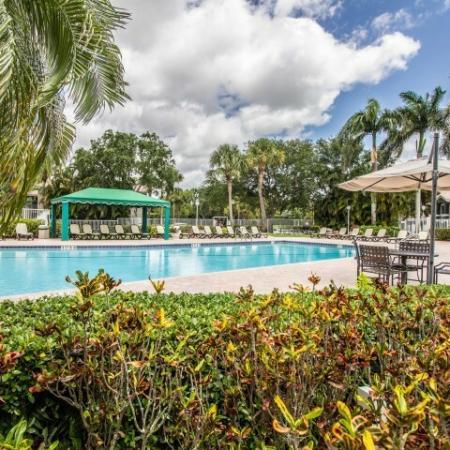 Apartment community pool | Gateway Club | Boynton Beach FL