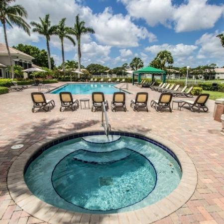 Hot tub | Spa | Gateway Club apartments