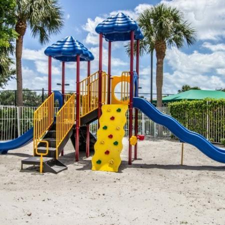 Apartment community playground | Gateway Club
